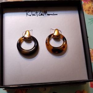 Tortoise shell Robert Lee Morris Earrings